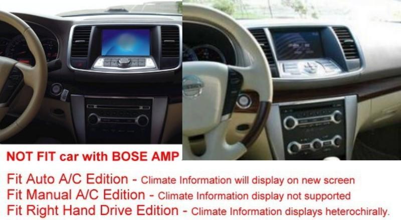 Liislee For Nissan Teana J32 Maxima A35 2008~2014 Car DVD Player GPS Nav  Navigation System BT USB AUX HD Touch Screen Multimedia
