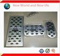 Frete grátis Para MAZDA 3 M3 AXELA Liga de Alumínio AT Pedal Gás Combustível Freio de Pé de Descanso Pedais Pads