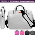 2016 новая Мода сумка Для Ноутбука 15.6 15 14 дюймов Ноутбук Сумка Плеча сумки женщины мужчины сумки слинг случае компьютер рукава