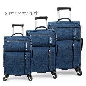 """Image 1 - VIAGGIO RACCONTO 20 """"24"""" 28 """"pollici impermeabile spinner trolly valigia set 3 pezzi set di valigie per il viaggio"""