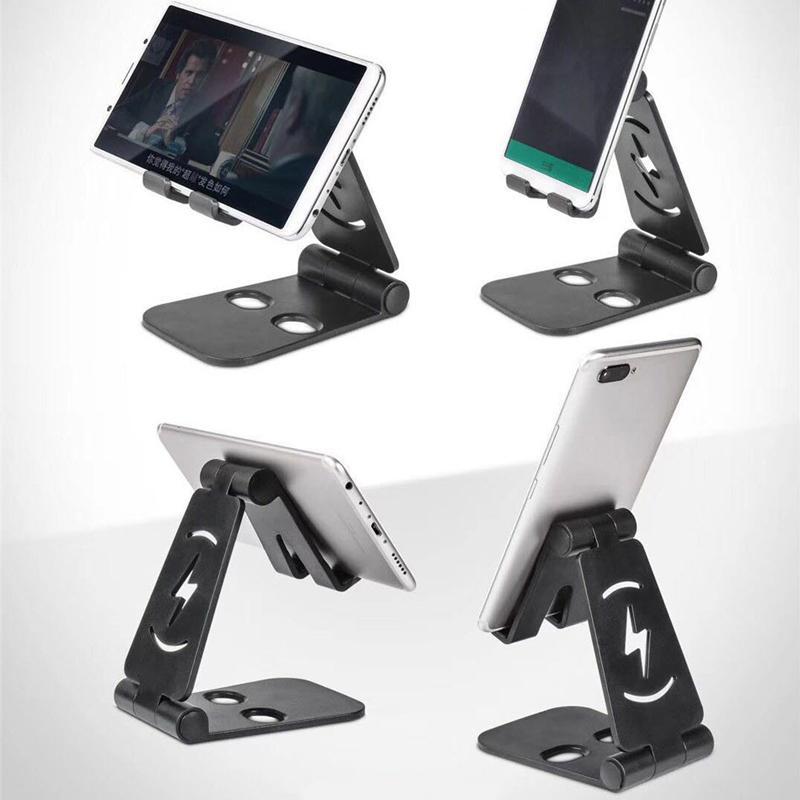 Group Vertical Universal Foldable Mobile Stand Plastic Desktop Desk Stand Holder Mount for Cell Phone Tablet Pad d20