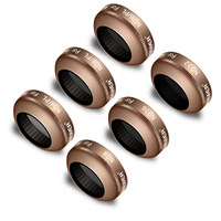 Neewer 6 Pieces Complete Lens Filter Kit for DJI Mavic and Mavic Pro Quadcopter Includes ND ND/PL Filter Kit for DJI Mavic Pro