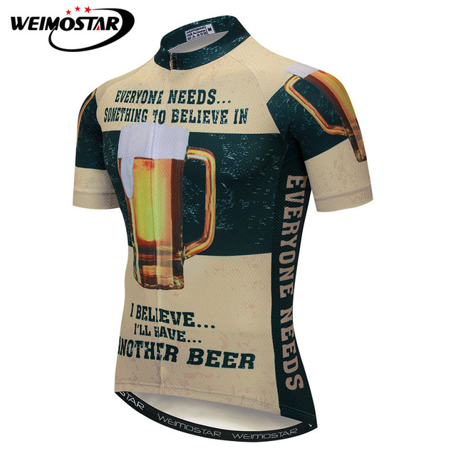 Weimostar Beer Cycling Jersey Shirt Summer Short Sleeve Bicycle Cycling  Clothing Ropa Ciclismo Downhill MTB Bike Jersey Clothes 16d9a1ecf