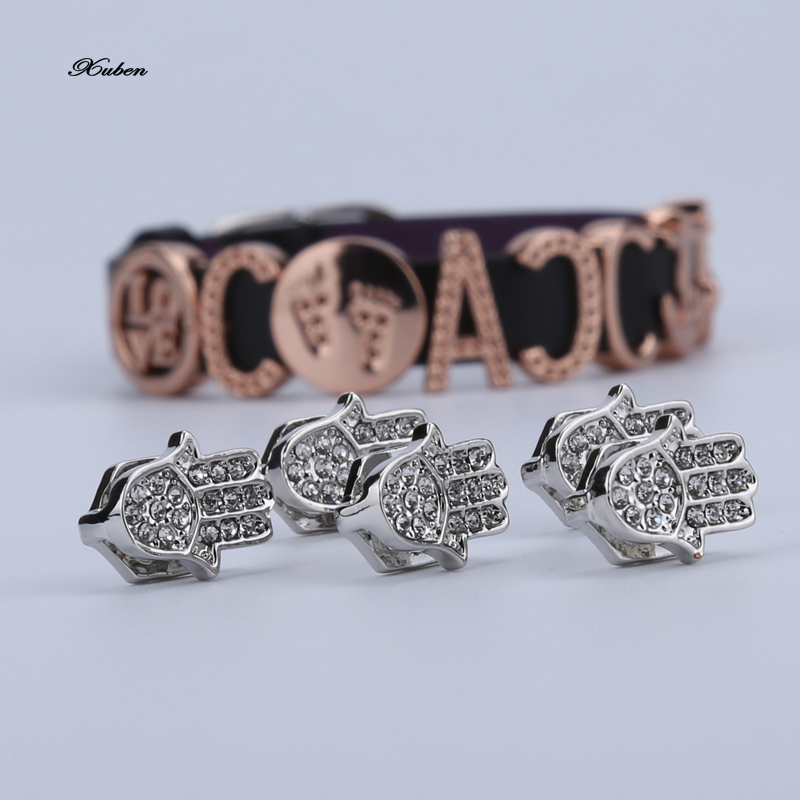 KEEPRING Dream Alloy Charm For Bracelet DIY random mix without repeat alloy palm