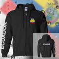 Ecuador mens hoodies and sweatshirt jerseys polo sweat suit streetwear tracksuit nation fleece zipper flag Ecuadorian Mestizo