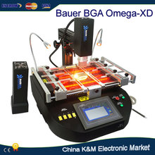 UK shipping BAUER OMEGA-XD Hot Air And IR 2 In 1 BGA Reworking station welding machine
