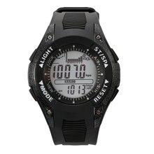 Sunroad pesca multifuncional relógio digital altímetro barômetro termômetro previsão do tempo do relógio dos homens do relógio à prova d' água