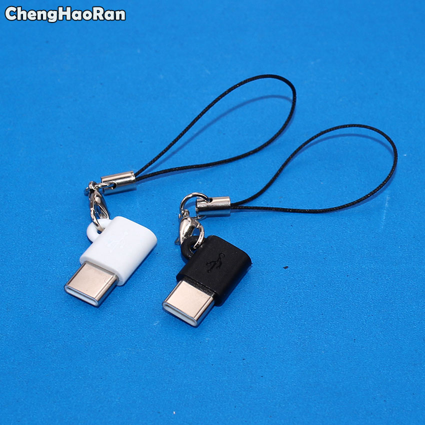 ChengHaoRan Micro USB Female To Type C Male Adapter For Xiaomi Mi 5X Letv For Samsung S8 Plus OTG Data Charging Converter