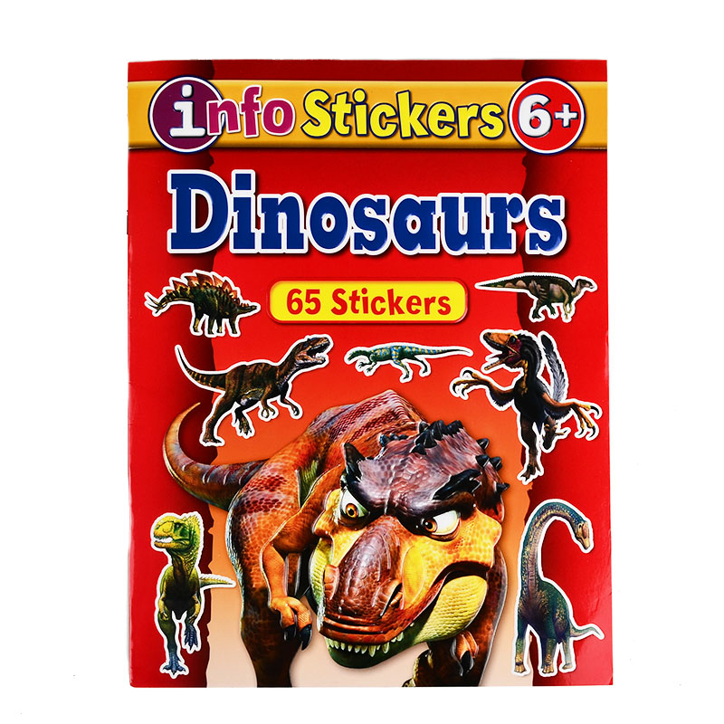 Dinosaur Reusable Sticker Pad Book