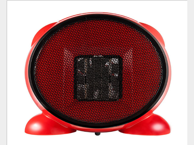 Portable Heater Household Electric Mechanical Air Mini Heater No Turning Without Shaking Head Ceramic Heating 500W