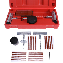 1 Set Auto Car Tire Repair Kit Car Bike Auto Tubeless Tire Tyre Puncture Plug Repair Tool Kit Tool Car Accessories