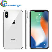Original Apple iphone X Gesicht ID 64 GB/256 GB ROM 5,8 zoll 3GB RAM 12MP Hexa Core iOS A11 Dual Zurück Kamera 4G LTE Entsperren iphone x
