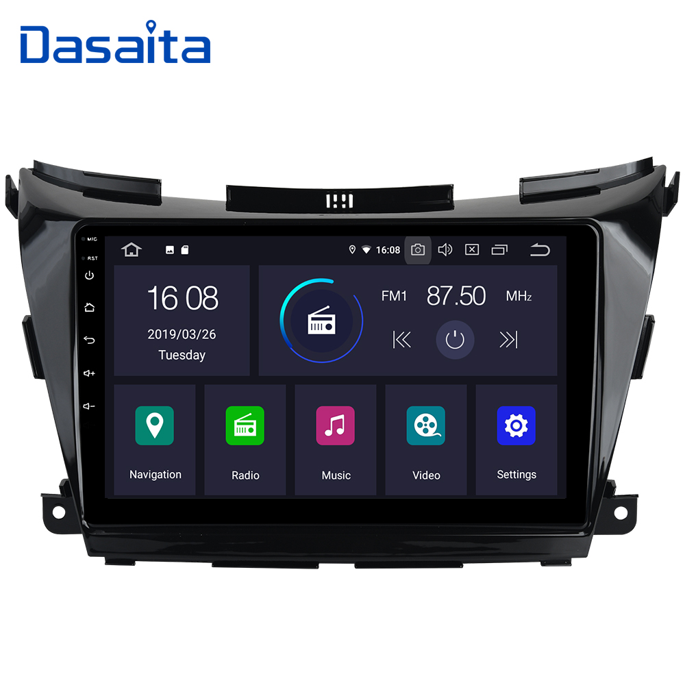 Dasaita 10 2 IPS Android 9 0 Car Multimedia Player Touch Screen for Nissan Murano Z52
