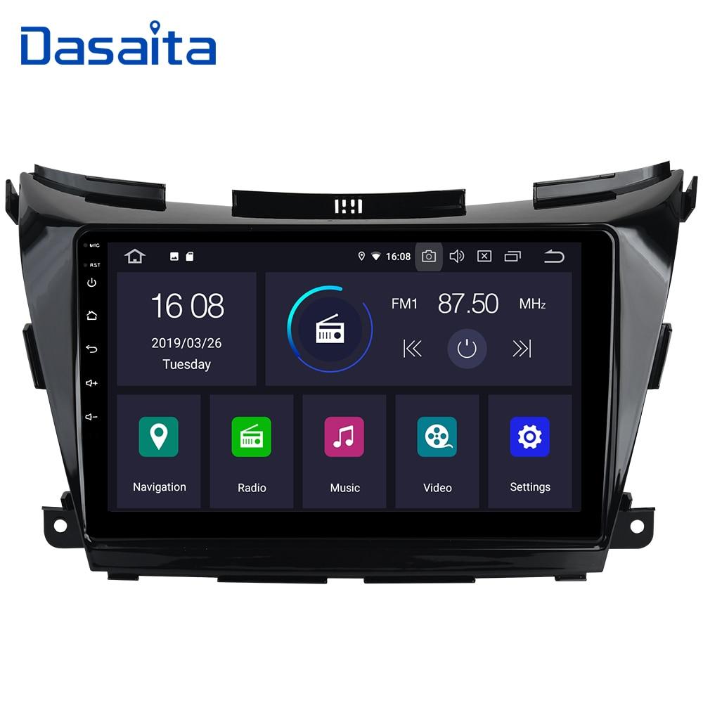 "Dasaita 10.2"" IPS Android 9.0 Car Multimedia Player Touch Screen for Nissan Murano Z52 2015 2016 2017 Autoradio Accessorie-in Car Multimedia Player from Automobiles & Motorcycles    1"