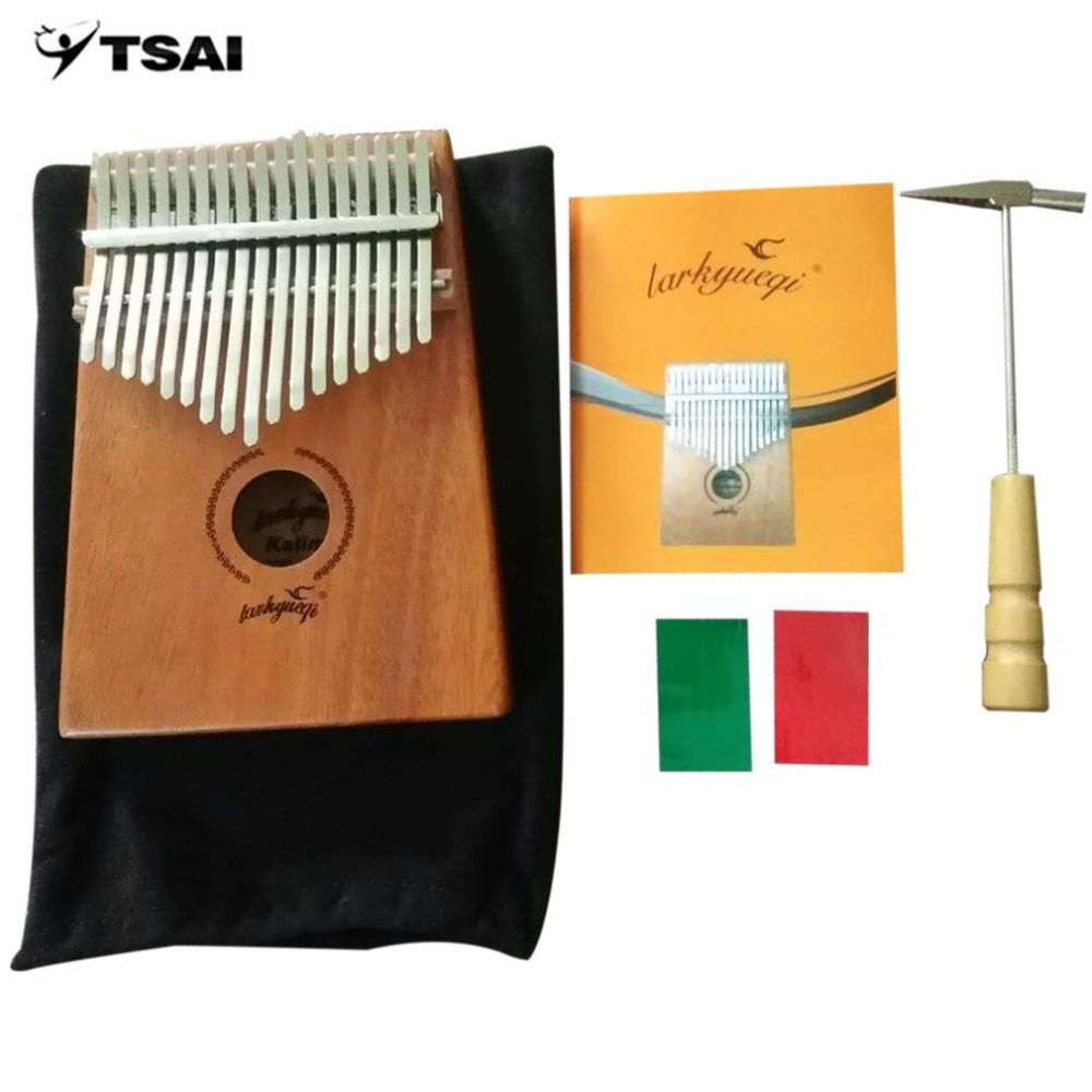Wood Color 17 Keys Kalimba Thumb Piano Acacia Wood Instrument Traditional African Music Instruments with 17 Tone HotWood Color 17 Keys Kalimba Thumb Piano Acacia Wood Instrument Traditional African Music Instruments with 17 Tone Hot