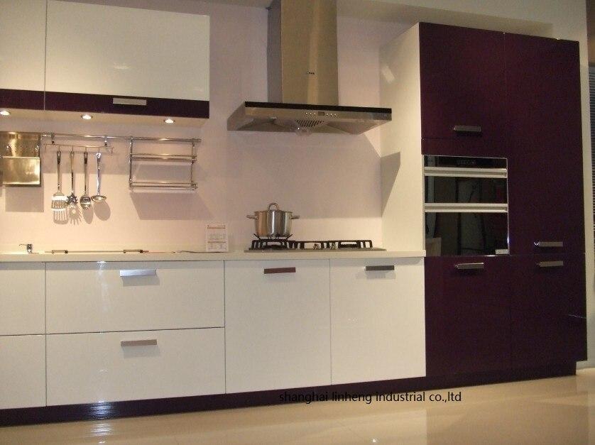 Глянцевый/лаковый кухонный шкаф mordern (LH LA058)