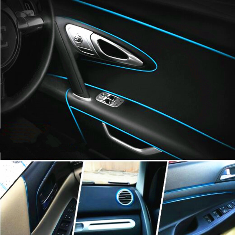 Image 3 - 5M Car Interior Decoration Moulding For Alfa Romeo 147 156 159 166 Mito For Fiat 500 Punto Bravo Stilo Doblo Car Styling-in Car Stickers from Automobiles & Motorcycles