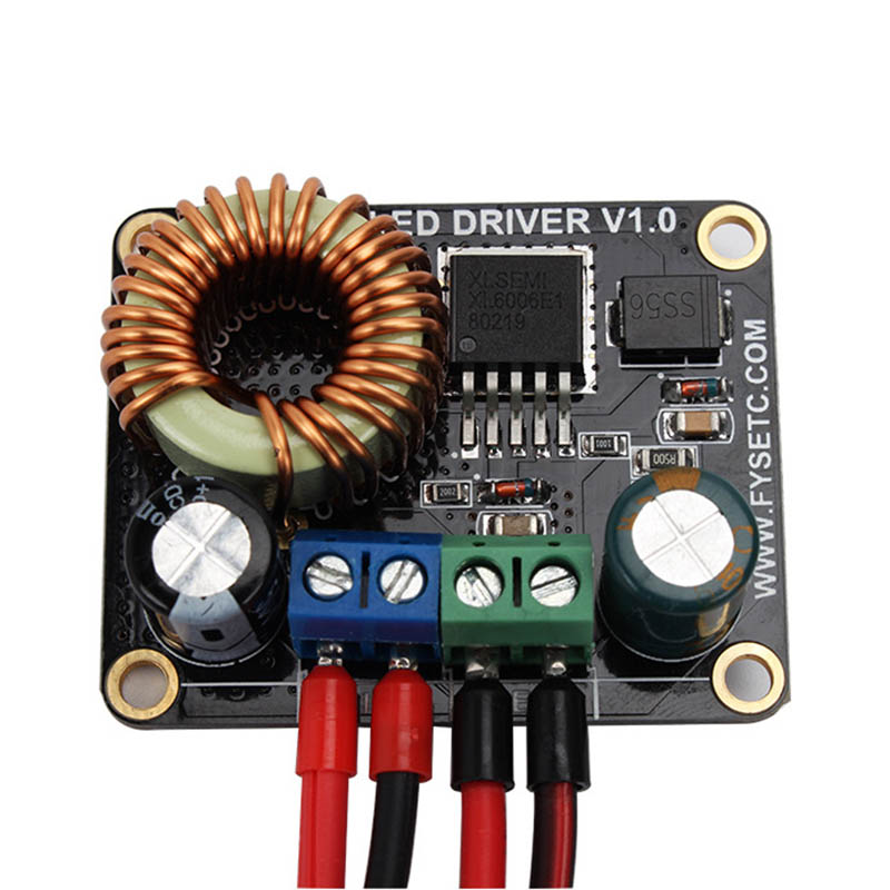 Carte d'entraînement LED 30 W pilote de courant Constant + carte de lumière LED pour imprimante 3D DLP Boost SLA XXM8