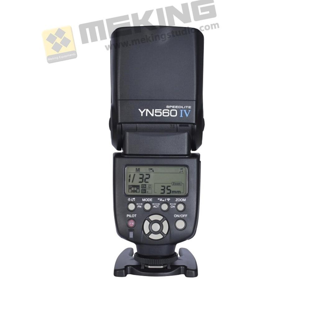 Yongnuo YN-560IV yn560 wireless Flash light Speedlite Speedlight for Canon Nikon Pentax Olympus 3000 D60 D40X D800 D600 mastering the nikon d600
