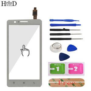 """Image 5 - 5.0"""" For Lenovo A536 536 Touch Screen Panel Digitizer Front Glass Lens Sensor Touchscreen Tools Adhesive + Screen Protector Gift"""