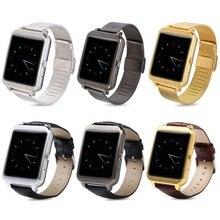 I95 android 4.3 bluetooth 4.0 smart watch con wifi grabadora de voz seis colores de control del ritmo cardíaco smartwatch impermeable ip65
