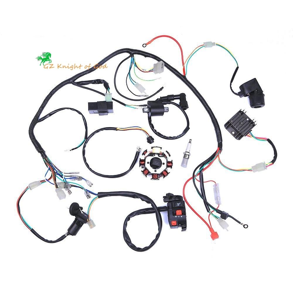 250cc Chinese Atv Wiring Diagram On Panther 110 Atv Wiring Diagram