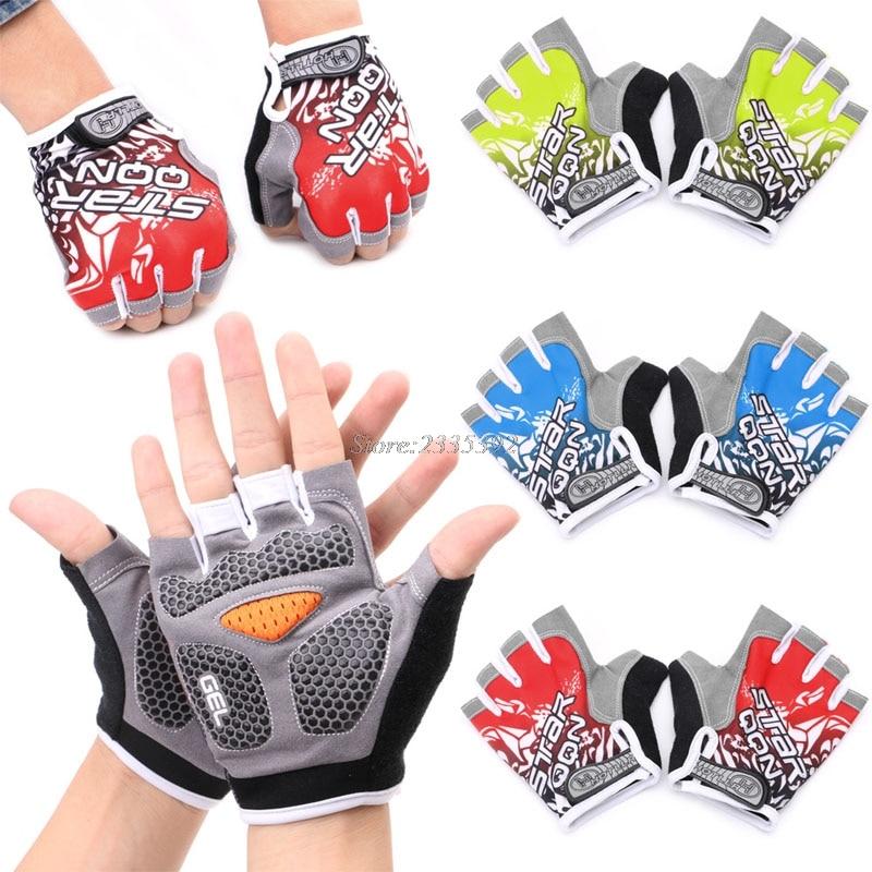 GEL Cycling Gloves Bike sport Gloves Bicycle Half Finger Gloves shockproof robesbon half finger cycling bicycle gloves