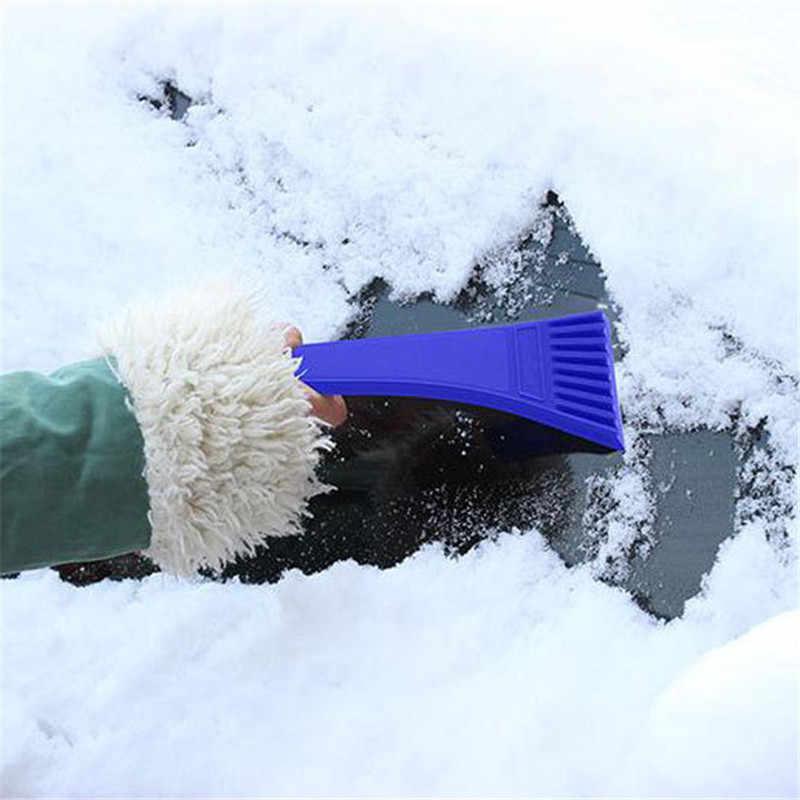 Высокое качество автомобиля скребок для снега и льда SnoBroom Снежная щетка Лопата удаление щетки зима