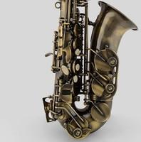 Franch Selmer Professional Alto Saxophone E Flat Antique Copper Simulation Alto Sax High Quality Bakelite Mouthpiece