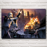 Star Wars: The Force Awakens Movie Art Silk Print Poster Home Decoration Pictures 12x18 16X24 20x30 24x36 inches Free Shipping