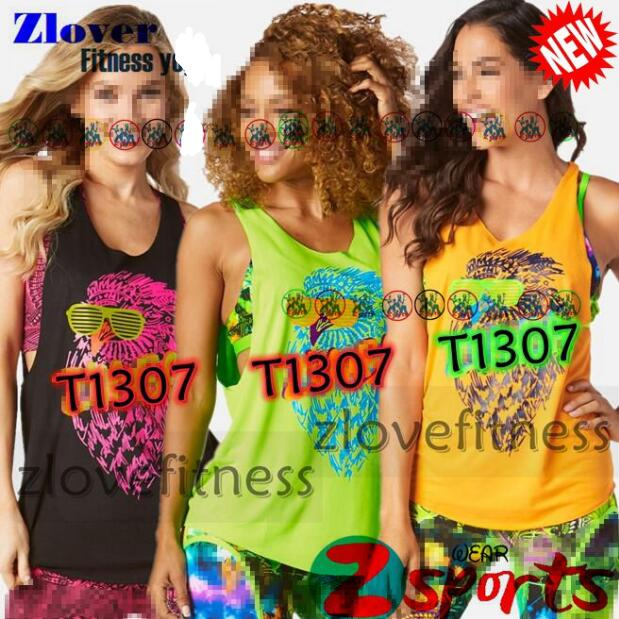S M L XL Woman vest Running Tops Rock N Rave Loose Tank Trainning & Exercise T-shirts yoga clothes T1307