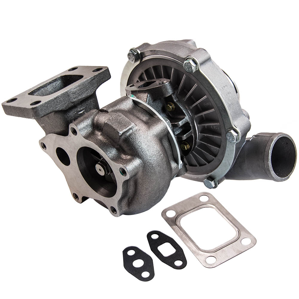 Turbo Turbocharger Oil Cooled T3T4 T04E 0.57A/R for Ford Dodge Turbolader 800HP 4 BOLTS T3 5 BOLTS flange 1.6L 1.9L 2.0L