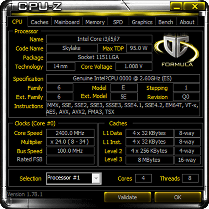 QHQF inżynieria wersja procesora INTEL I7 Q0 SKYLAKE jako QHQG 2.6G 1151 8WAY 95W DDR3L/DDR4 rdzeń graficzny HD530