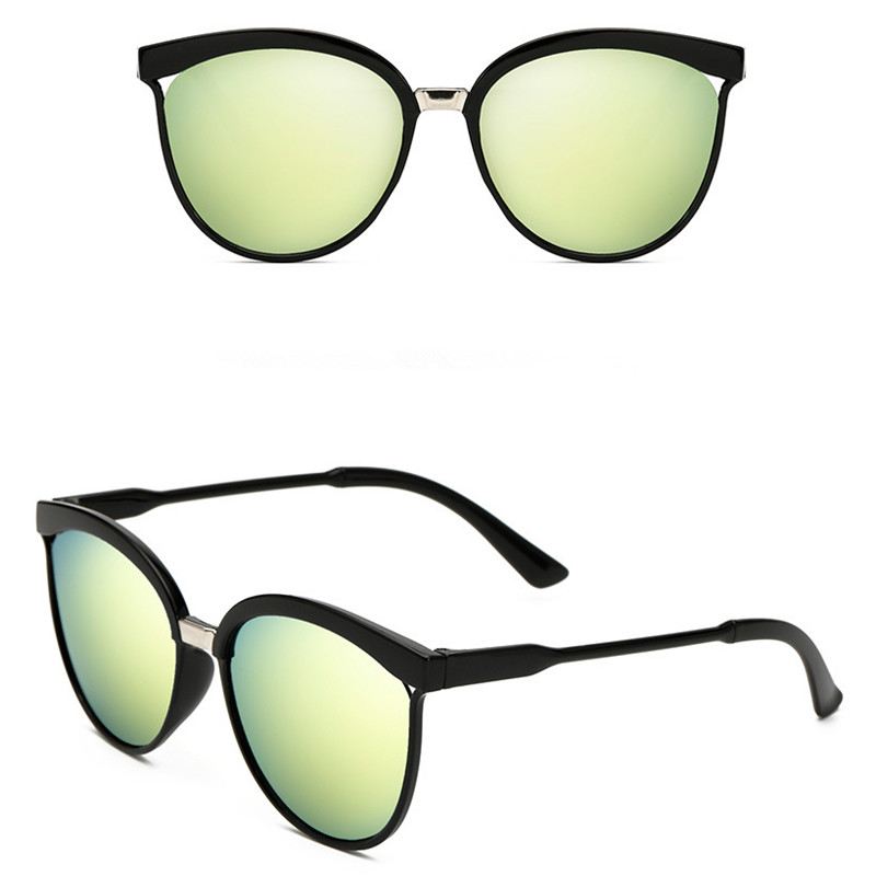 Kaķu acu saulesbrilles sievietēm zīmola dizainers dāmas - Apģērba piederumi