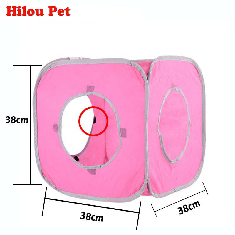 folding tunnel cat A folding tunnel tent for a cat-Free Shipping HTB1vxFcQFXXXXbaaXXXq6xXFXXXc