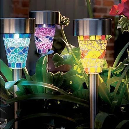 Extérieure Étanche LED Lumière Solaire Lampes Led Lampes de Jardin ...