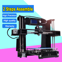 Big printing Size 2 parts Fast assembly Pursa I3 High precision industrial 3d printer A6 1minute Assemble hot selling