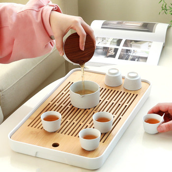 Japanischer Teetisch   Japanischen Stil Wohnzimmer Kung Fu Tee-set Moderne Haushalts Einfache Tablett Große Bambus Wasser Lagerung Tee Tisch Tee Fach ZP5031059