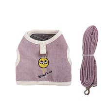 Ambaby pet dog harness collar comfortable nylon vest product cat and leash set