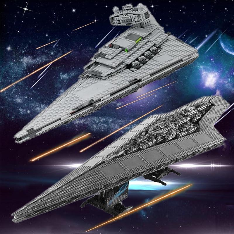 Building Blocks Star Wars 05027 05028 Compatible 10030 10221 Imperial Executor Destroyer Starship Toys lepin star war destroyer аккумулятор для bosch 9 6v 2 1ah ni mh angle exact exact gdr gsr psr series 2 607 335 707 b
