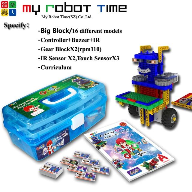 Mrt Brain A Educational Robot Kit Stem Robotics Courses Diy Block