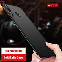 MAKAVO For Huawei Y9 Prime 2019 Case Full Protection Soft Silicone Matte Cover For Huawei Y9 Prime 2019 Phone Cases