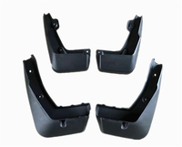 4Pcs For Acura CDX 2013 2017 Black Front Rear Molded Car Mud Flaps Splash Guards Mudguard Mudflaps Fenders