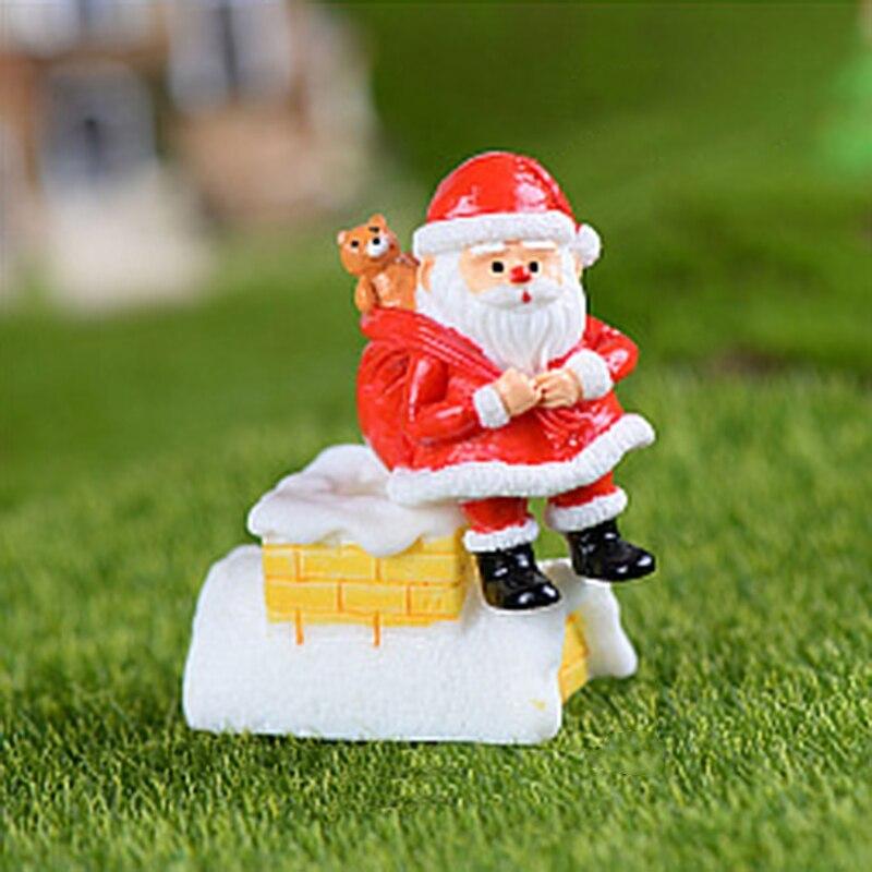Miniature Resin Christmas Series Micro Garden Plant Bonsai Dollhouse Decorations YH-KTSF