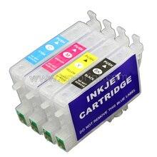 T0461 T0472 T0473 T0474 cartucho de tinta recarregáveis para Epson C63 C65 C83 c85 CX3500 CX4500 CX6300 cx6500 impressora com ARC chip