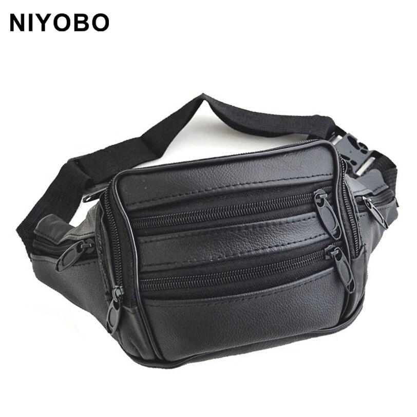 075beab86706 Модные Винтажные Талия пакеты мужчин/женщин натуральная кожа поясная сумка  воловья кожа Небольшая поясная сумка pt970