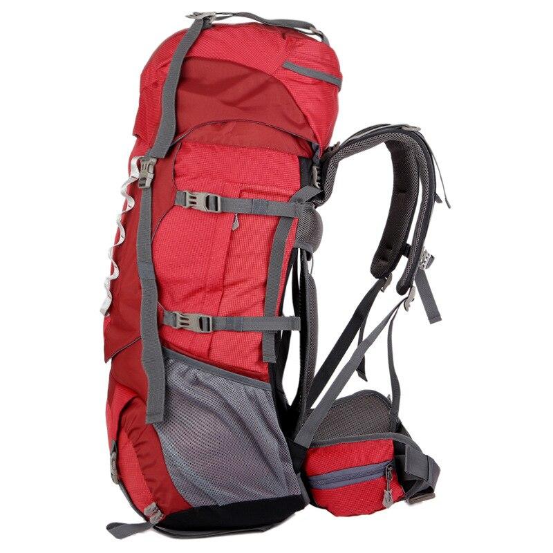 80L grande capacité alpinisme chasse voyage escalade Nylon étanche sac à dos Molle sacs à dos avec sac à cadre interne BD39 - 4