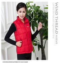 Autumn winter women cotton vest collar warm down coat jacket Brand Designer Sleeveless Hoody Casual suit