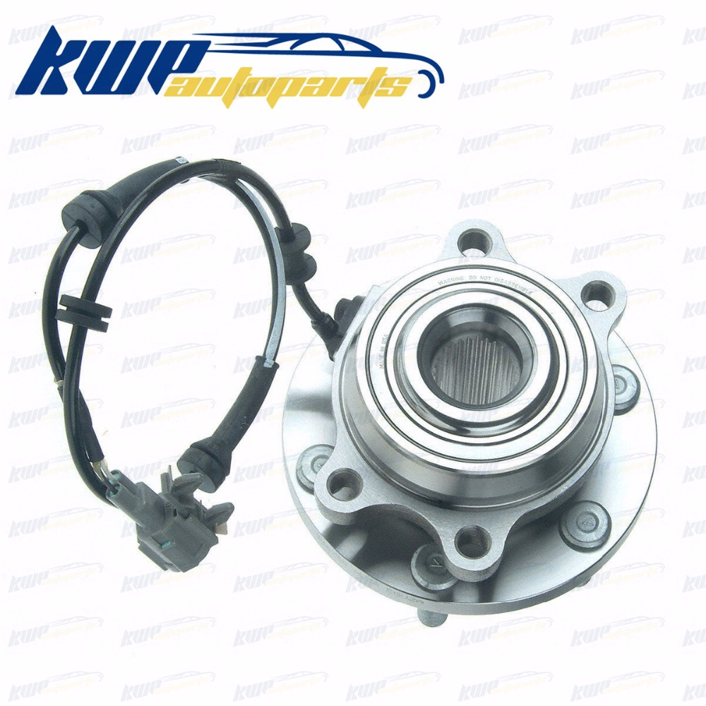 Front Left Or Right Wheel Bearing and Hub Assembly For Nissan Pathfinder Frontier Xterra Suzuki Equator 4WD цена