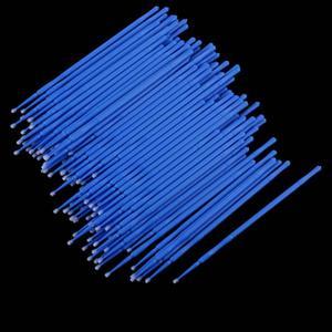 Image 4 - 100 adet/şişe Microblading mikro fırçalar Swab Lint ücretsiz dövme kalıcı malzemeleri pincel maquiagem aplicador de sombra ojos